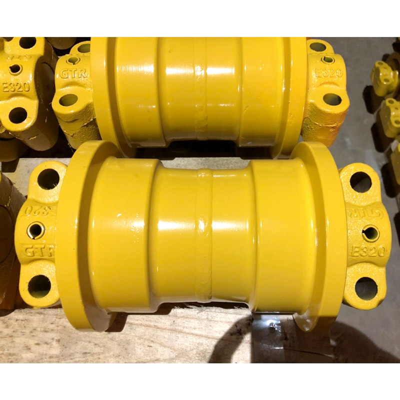 mechanical part excavator track roller lower bottomfactory price for excavator-2