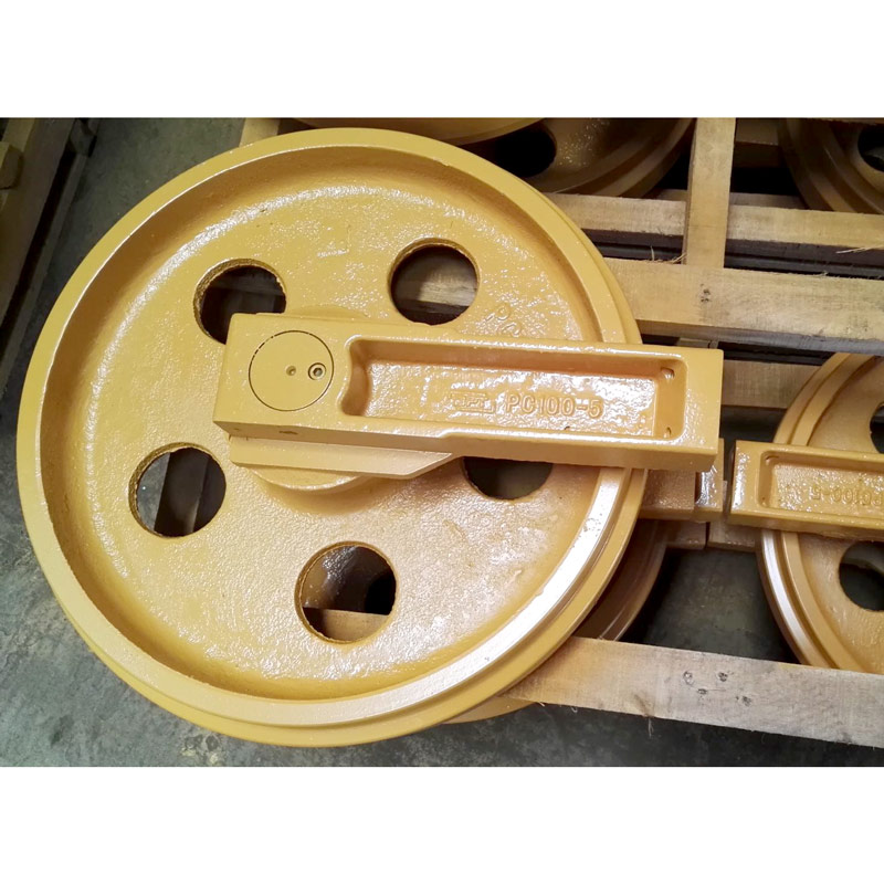 Excavator Idler wheel front idler guide roller Laike Construction Machinery-2