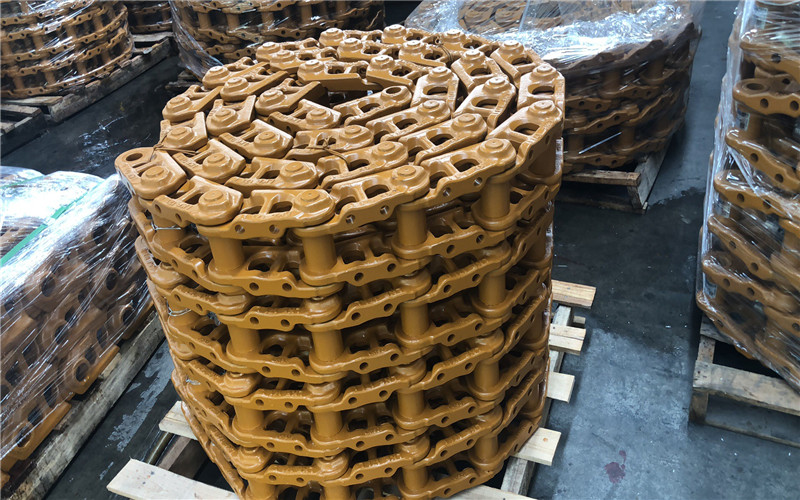 custom dozer track chains high-quality industrial for customization-2
