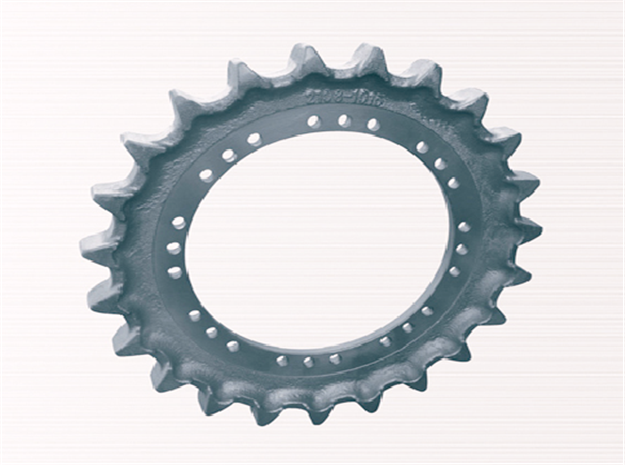 custom made sprocket segment handpick materials transfer engine power for excavator-1