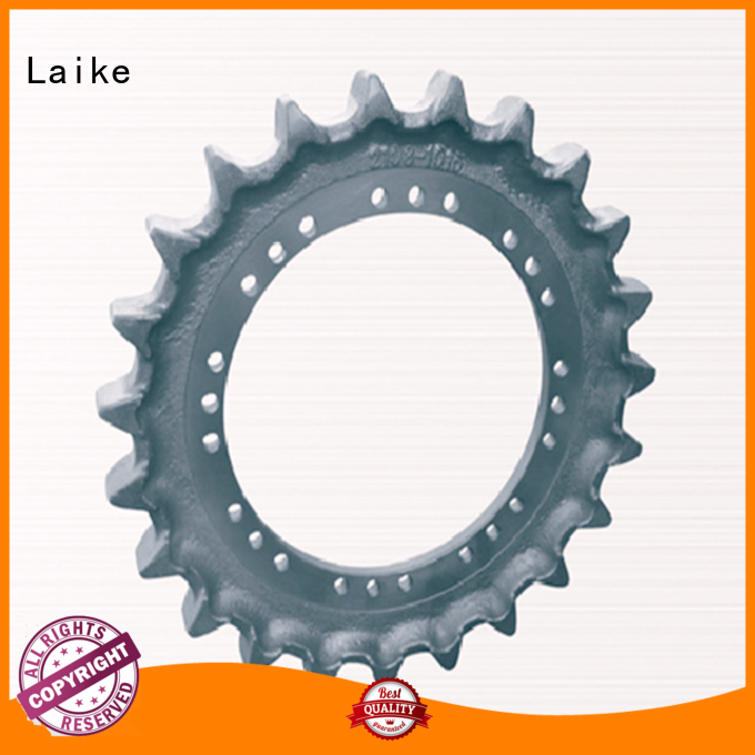 Laike excellent quality undercarriage sprocket stable performance for bulldozer