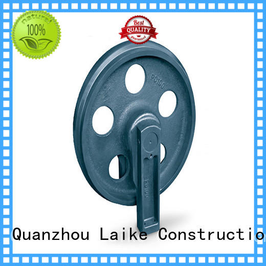 Laike excavator track idler at discount for wholesale