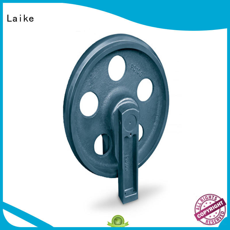 Laike favorable price excavator idler wheel front roller for wholesale