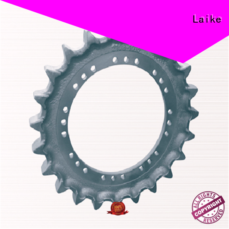 excavator sprocket reasonable design for excavator Laike