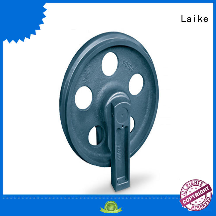 Laike functional front idler front roller construction machinery