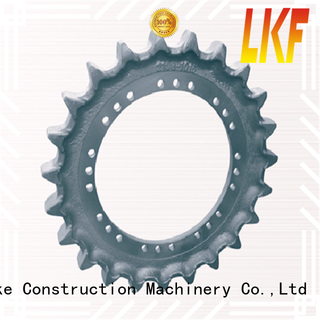 Laike custom made high speed sprocket handpick materials for excavator