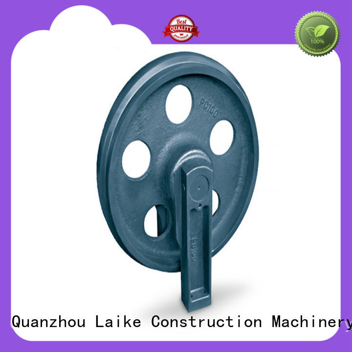 Excavator Idler wheel front idler guide roller Laike Construction Machinery